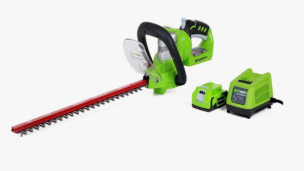 Greenworks 24-V 22-inch Battery Powered Hedge Trimmer