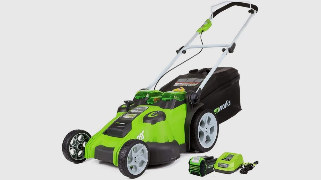 Greenworks 40V Twin Force Battery Powered Lawn Mower